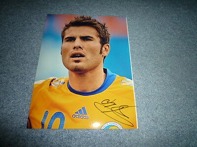 ADRIAN MUTU signed Autogramm  In Person 20x28 cm RUMÄNIEN