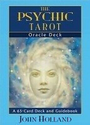 The Psychic Tarot Oracle Deck by John Holland NEW