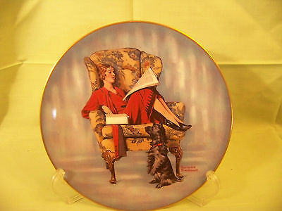Mothers Treat, Norman Rockwell collector plate, 1980, Royal Devon 8 1/2 in