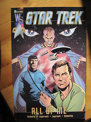 "STAR TREK - ""ALL OF ME""  GRAPHIC NOVEL by ISABELLA & LOPRESTI. WILDSTORM 2000"