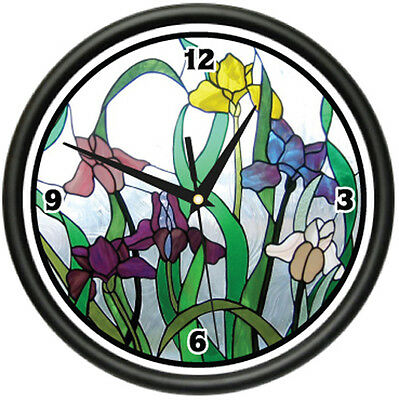 Quot Stained Glass Clock Quot