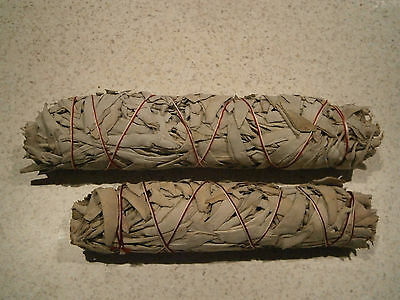 Smudge Stick California White Sage--- Extra Large.--- 22cm -- FREE POSTAGE