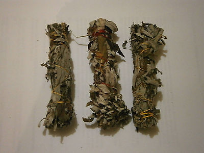 Mugwort Smudge Stick - Small  (Packet of three)