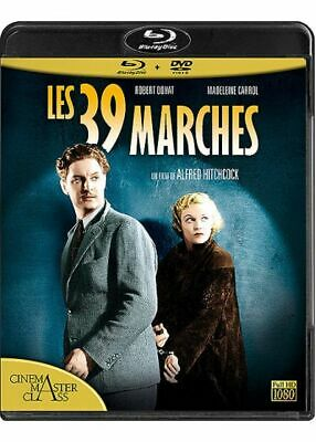 Combo Blu-Ray+ Dvd Les 39 Marches Edition Remasterisee  Neuf Direct Editeur