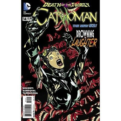 CATWOMAN #14  1st PRINT 2012 NM   DEATH OF THE FAMILY JOKER sold out new 52