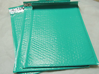 10 Teal Green 10.5 X 15.25 Poly Bubble Mailers, Shipping Self-Adhesive Mailer #5