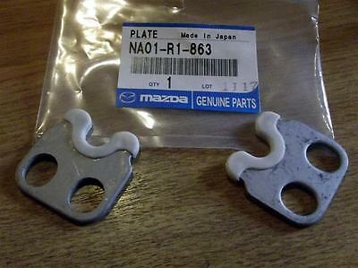 Hardtop rear deck lock plate set, MX-5 mk1, mk2, mk2.5, 1989-2005, MX5 hard top