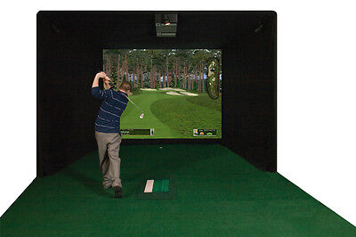 Par T Golf Simulator ES9000 NEW Indoor Golf Simulator