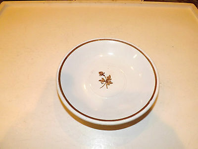 Vintage Royal Ironstone China Alfred Meakin Tea Leaf Saucer 5 5/8 Inches