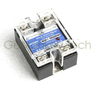 Solid State Relay SSR DC-DC 40A 3-32VDC/5-220VDC 40A