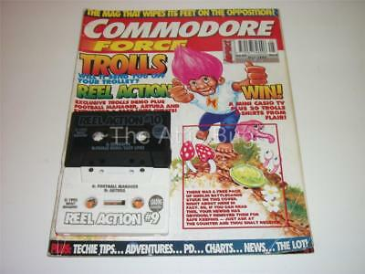 Commodore Force ~ Issue 5 ~ May 1993 ~ with both Cover Tapes (Lot 1)