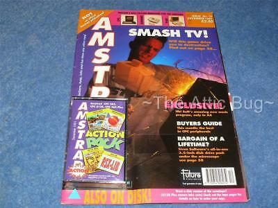 Amstrad Action Magazine ~ Issue 75, December 1991 ~ With cover tape