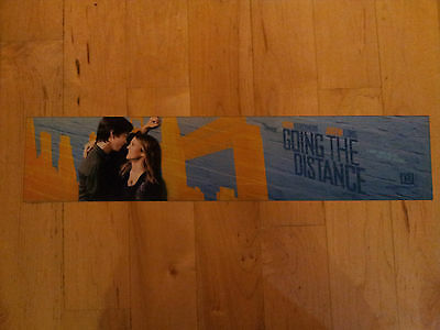 Going the Distance,Drew Barrymore,Large (5X25) Movie Theater Mylar Banner/Poster