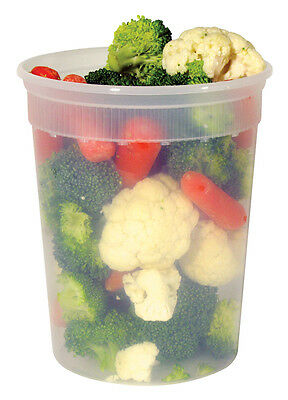 32oz. DELI CONTAINERS W/ LIDS NEWSPRING YL2532 240/CASE