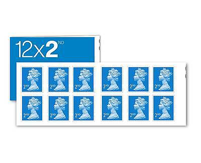 24 x 2ND Second CLASS STAMPS.. Brand New UK.. Royal Mail Postage Stamps