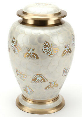Cremation Ashes Urn Brass HAND Crafted NEW (UU100026A)