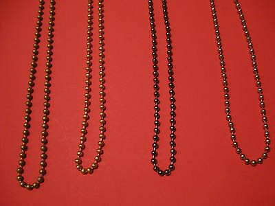 Roman,Roller & Vertical Blind Coloured Metal Chain.continuous Loop.spares Parts