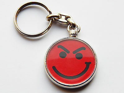BON JOVI Have A Nice Day Classic Rock Band Quality Chrome Keyring Both Sides!