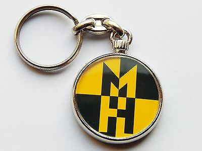 MACHINE HEAD Rock Metal Band Quality Chrome Keyring Picture on Both Sides!