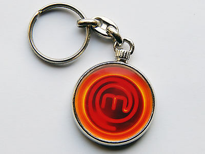 MASTERCHEF Cooking TV Show Quality Chrome Keyring Picture on Both Sides!