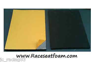 Race Seat Foam, 20mm Thick, Self Adhesive, Race & Track days