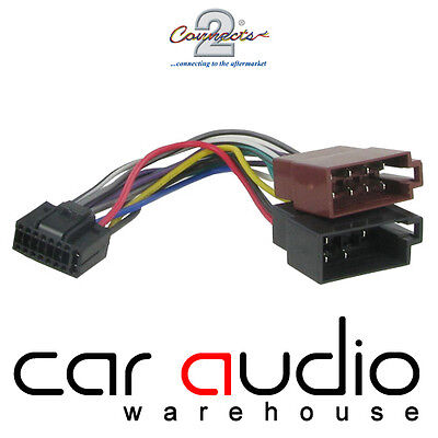 Kenwood 16 Pin To ISO Car Stereo Radio Power Lead Harness CT21KW01