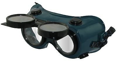 "2"" Flip up Welding Goggles shade 5 for Gas Cutting"