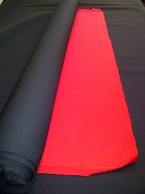 NEOPRENE SHEET WETSUIT DIVESUIT NYLON MATERIAL 2.5mm THICK RED BLACK 1.2m x 1m