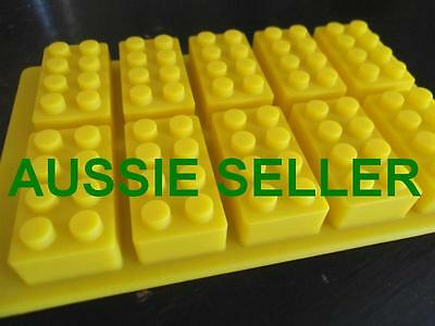 Lego Brick Silicone Jelly Chocolate Cake Ice Muffin Mold Mould Party Novelty Fun