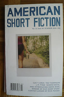"""AMERICAN SHORT FICTION"" Book - Summer 2010 Issue - Lucy Corin - Ted Thompson"