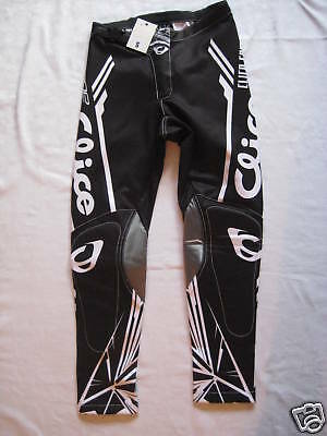 Clice Trials Bike Riding Pants. TOP QUALITY, BLACK