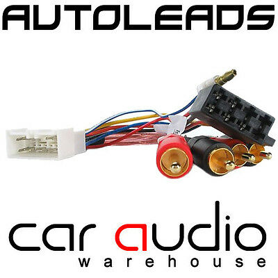 autoleads pc9-406 toyota mr2 amplified car stereo bypass iso wiring harness  lead