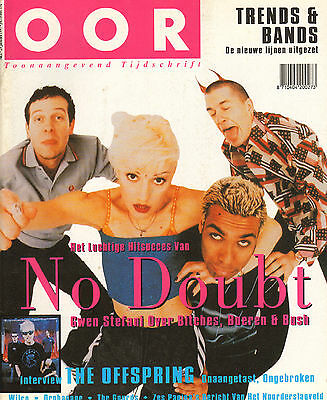 MAGAZINE OOR 1997 nr. 02 - OFFSPRING / RICK WRIGHT (PINK FLOYD) / NO DOUBT