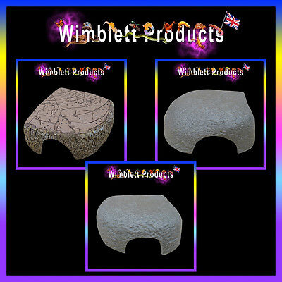 REPTILE HIDES  for small hatchling & baby reptiles, geckos, spiders, snakes etc