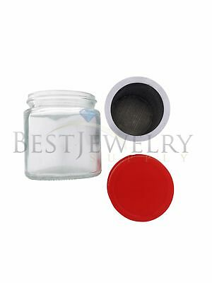 Gold Gem Stone Jewelry Small Parts Cleaning Cleaner Sift Bottle Prospecting Jars