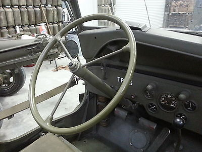 Jeep Willys MB Ford GPW New Reproduction Steering Wheel CJ2A CJ3A G-503