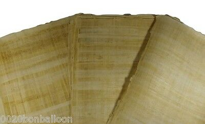 "10 BLANK PAPYRUS WHOLESALE LOT EGYPTIAN ORIGINAL HAND MADE 8""x6"" ( 20x15CM )"