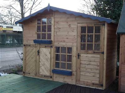 Wooden Playhouse/play house/wendyhouse/wendy house 10 x 5 2 storey Mickey & Mini