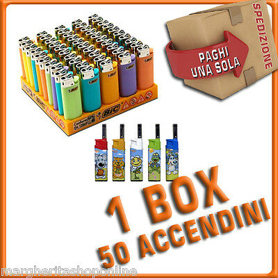 Accendini BIC MINI 50 pezzi + 5 accendigas David Ross