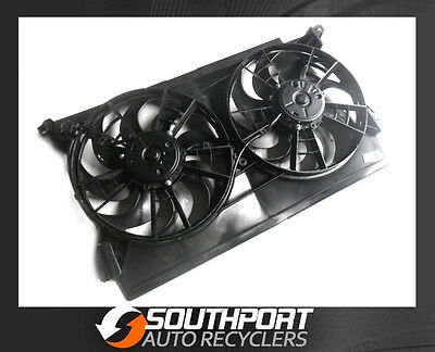 FORD FALCON RADIATOR ENGINE THERMO TWIN FAN SETUP SUIT EL or XH *NEW*