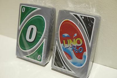 UNO H2O Waterproof PVC Sport Birthday Travel School Party Playing Card Game