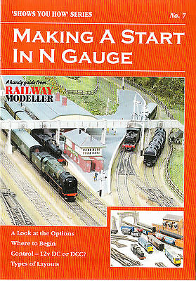 Peco SYH 7 The Railway Modeller Book - Making a Start in N Gauge 8 page Book