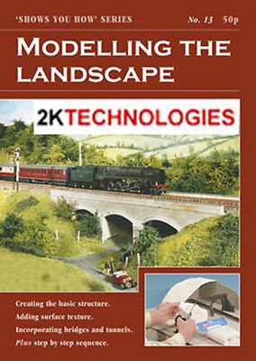 Peco SYH 13 The Railway Modeller Book Modelling The Landscape 8 page Booklet