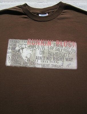 TOBY KEITH runnin' block LARGE T-SHIRT i love this bar and grill