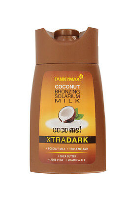 TannyMax Coco Me Xtra Dark Coconut Sunbed Tanning Lotion Bronzing 50ml 200ml