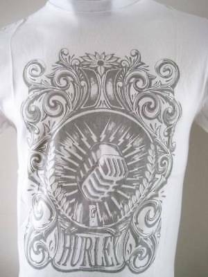 HURLEY Mens 'ELECTRO ROCK' T-shirt Tee Size S M L XL white