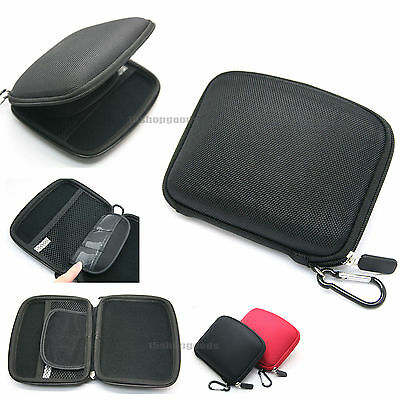 "5""inch Black EVA Hard Case Cover Bag for TomTom GPS GO LIVE 2050/VIA 280 180 AU"