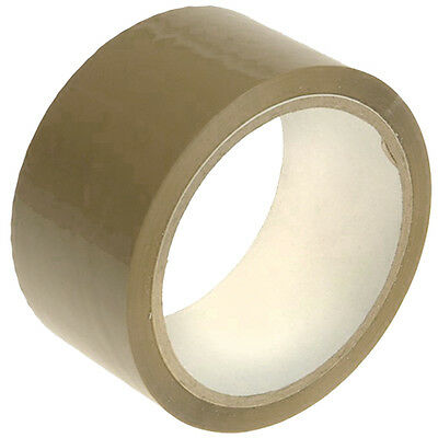 12 Rolls Brown Packing Tape Heavy Duty/household Use