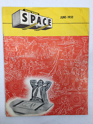 HYSTER COMPANY 1952 SPACE Magazine Turret Trucks Fork Lifts Construction Equip