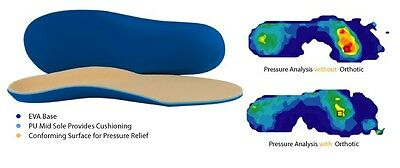 Diabetic Insole Orthotic Foot Support Comfort Shock Absorbing Arthritis Soft